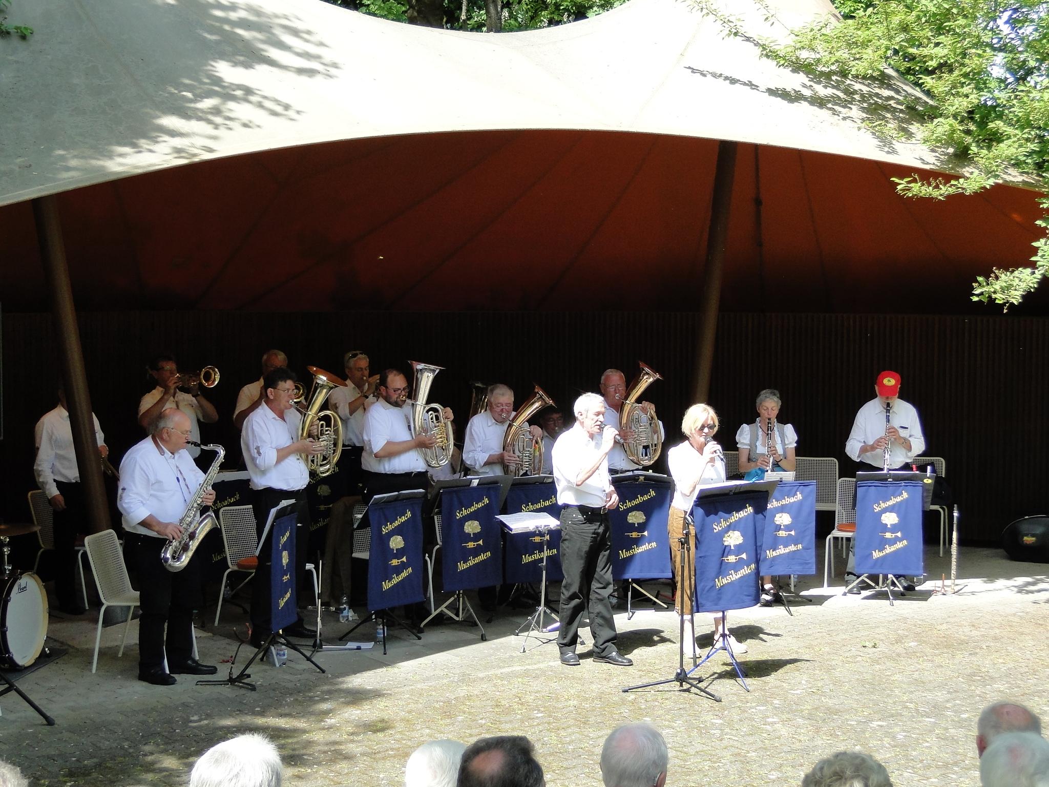 Sonntagsmatinee Kurpark Bad Urach 22.05.2016