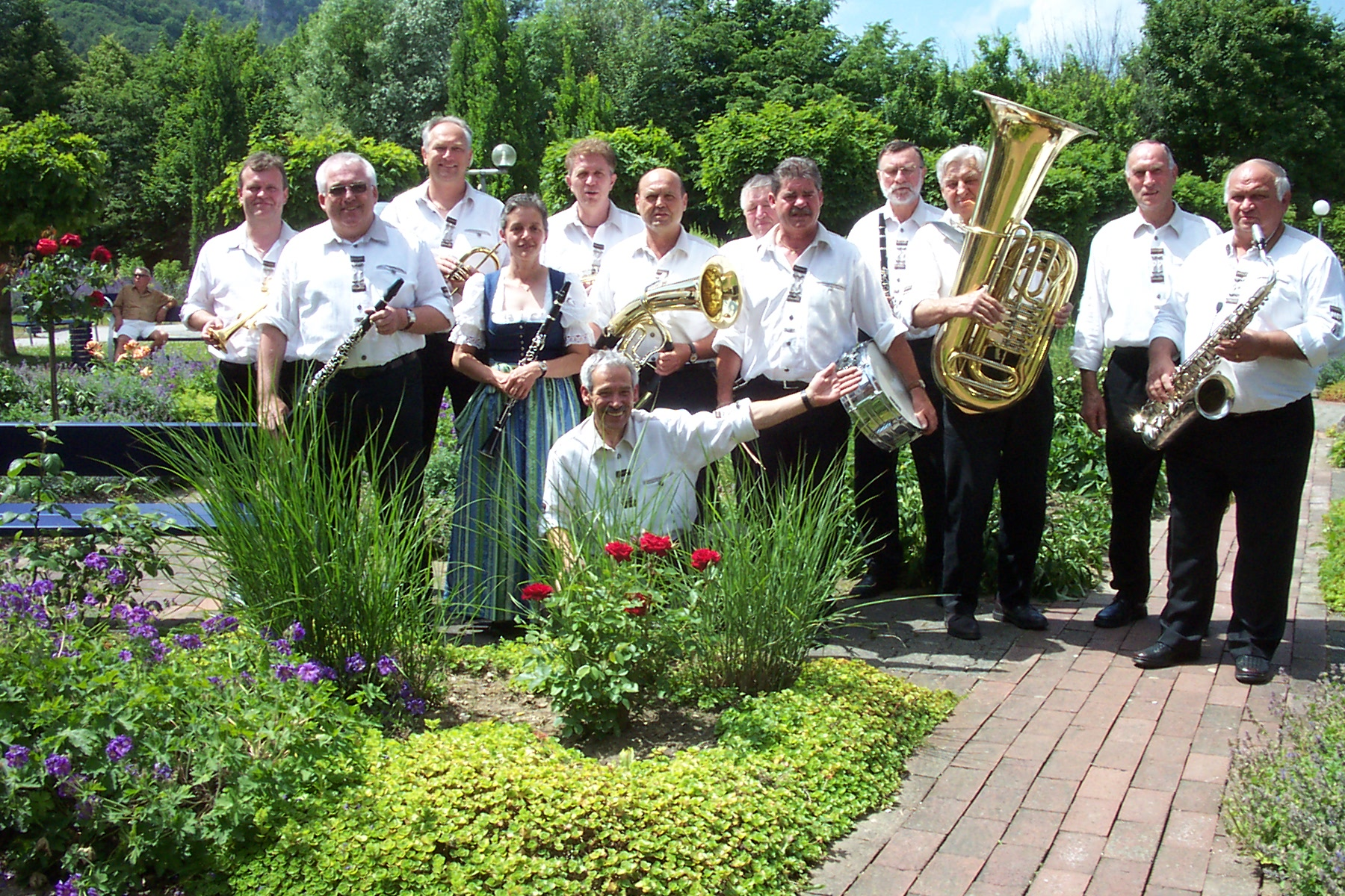 Frühschoppen Graf eberhard Hotel Bad Urach 18,06,2006