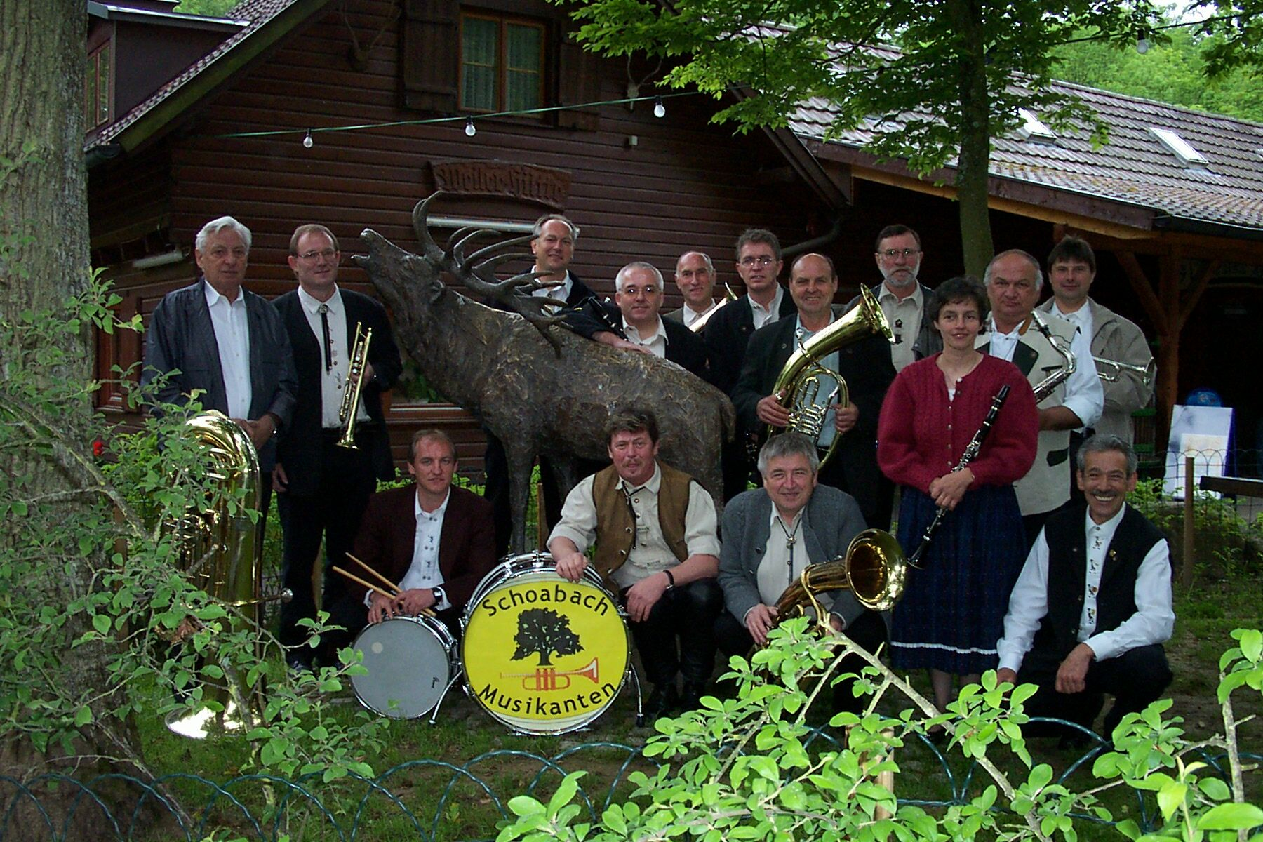 Frühschoppen Weiler Hütte Pfingsten 2002