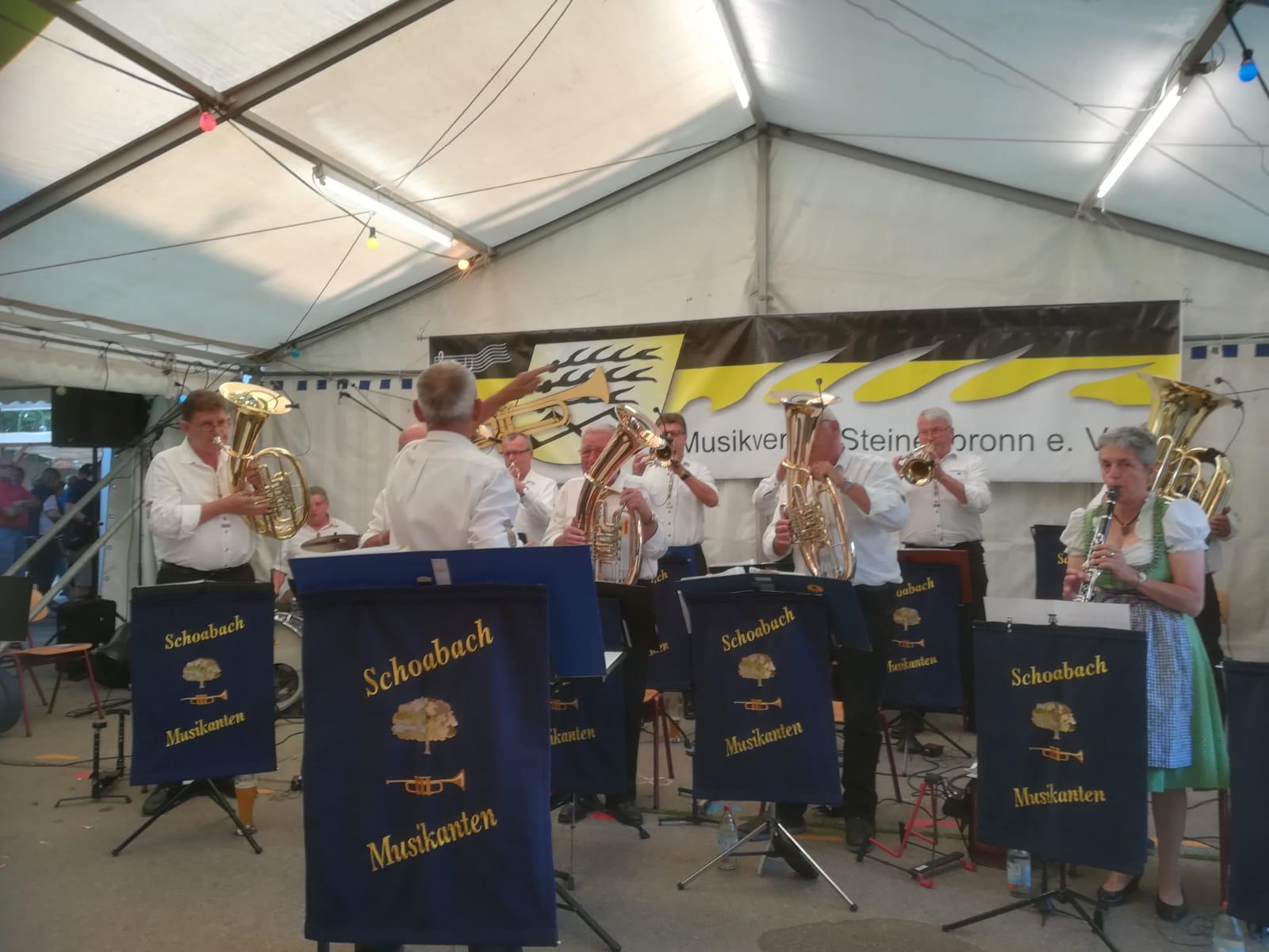 Musikfest MV Steinenbronn 29.07.2019
