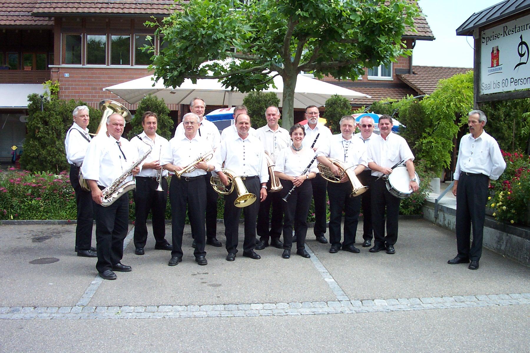 Frühschoppen Schweiz Maur 27.06.2004