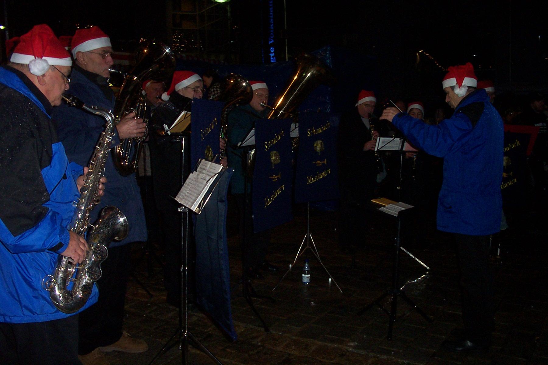Weihnachtsmarkt Holzgerlingen 09.12.2006