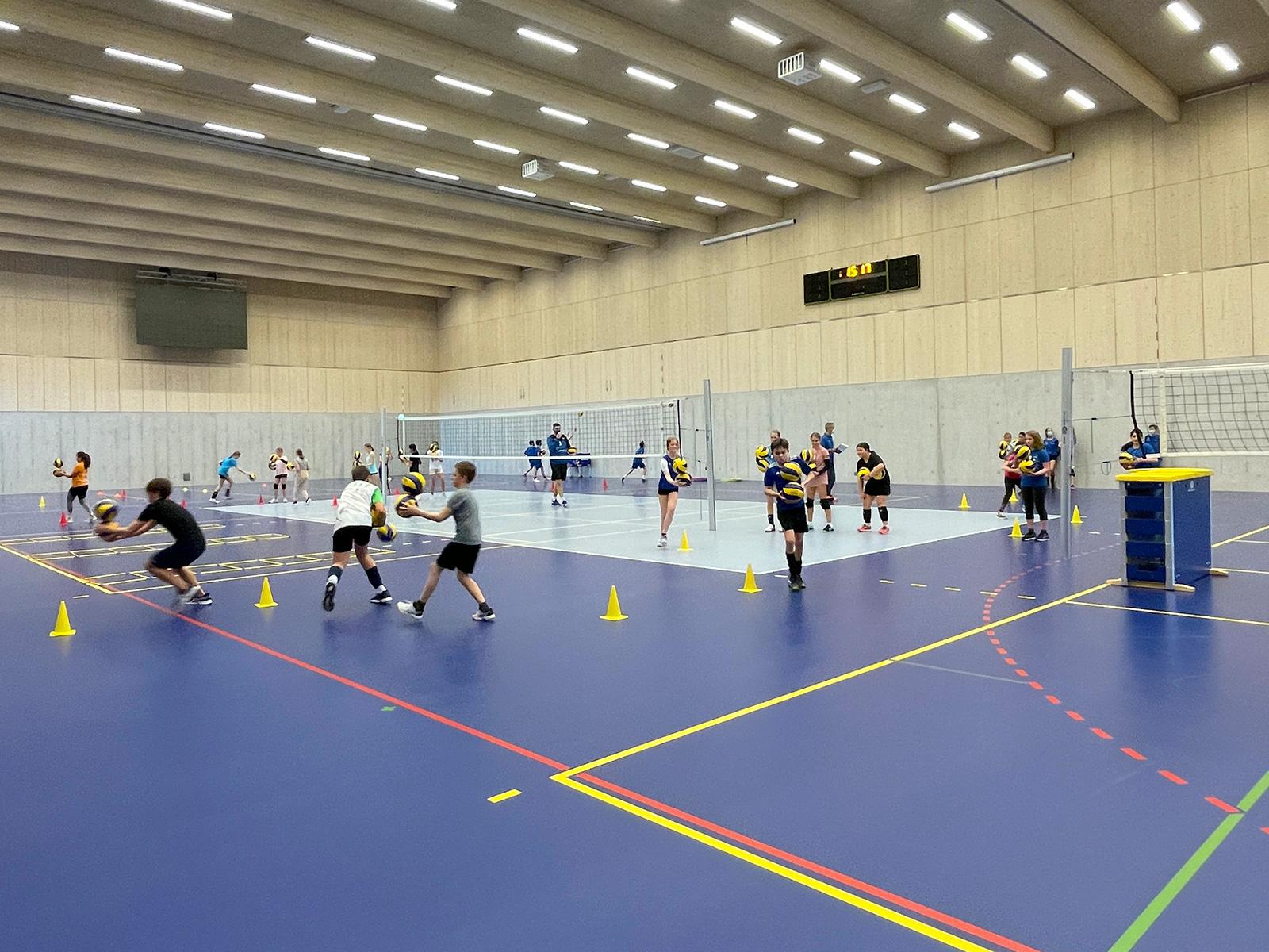 Viele Anmeldungen für die volleyamriswil academy!