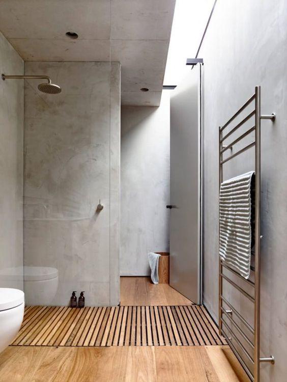 Pinterest salle de bains intérieur béton al intérieurs