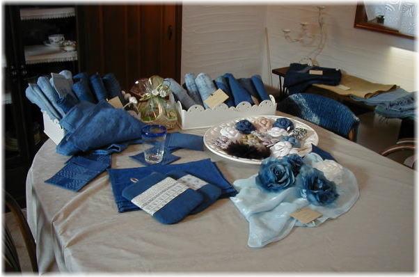 藍染作品展示