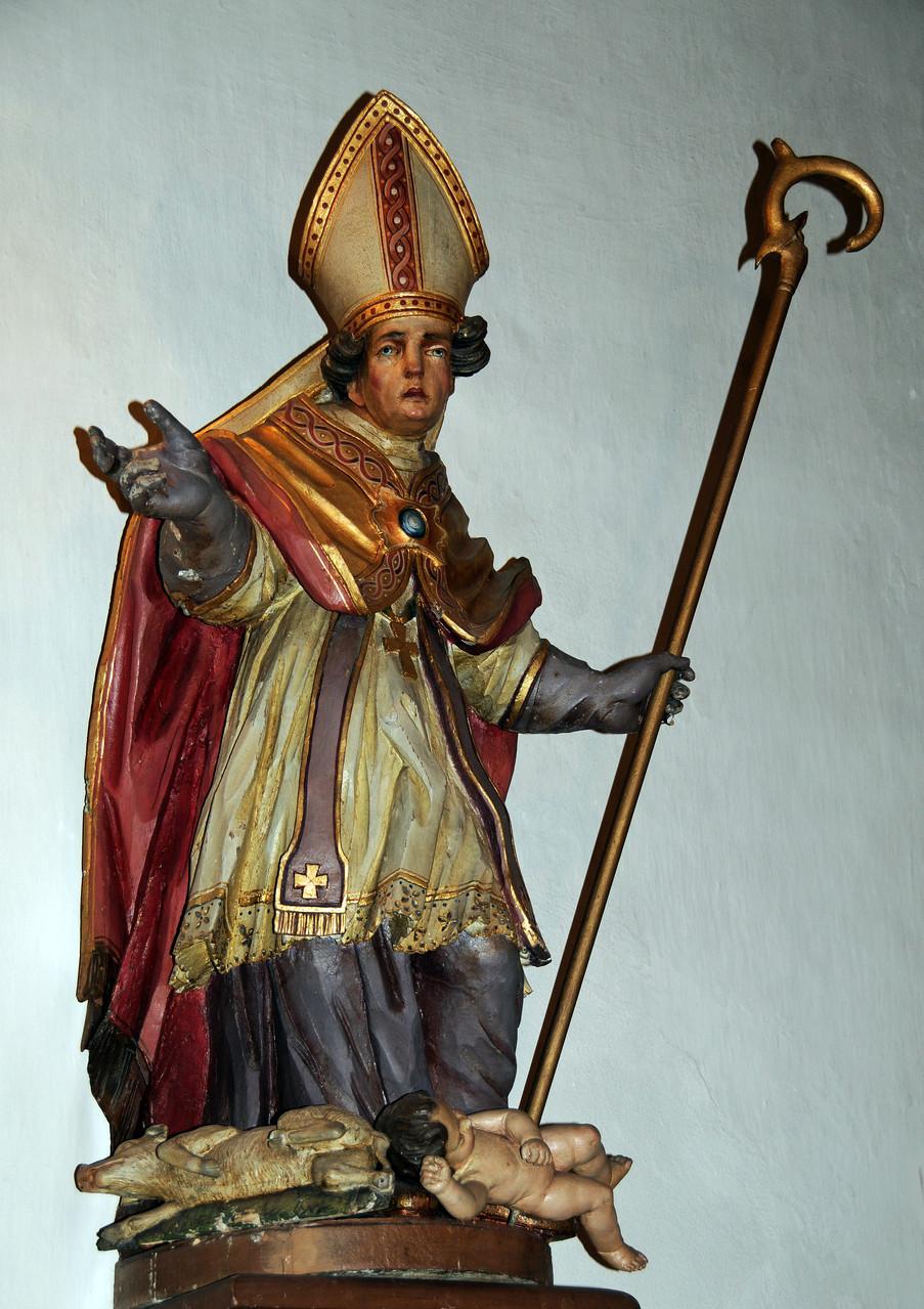 Der heilige Valentin - Der Schutzpatron der Kapelle und Korlingens