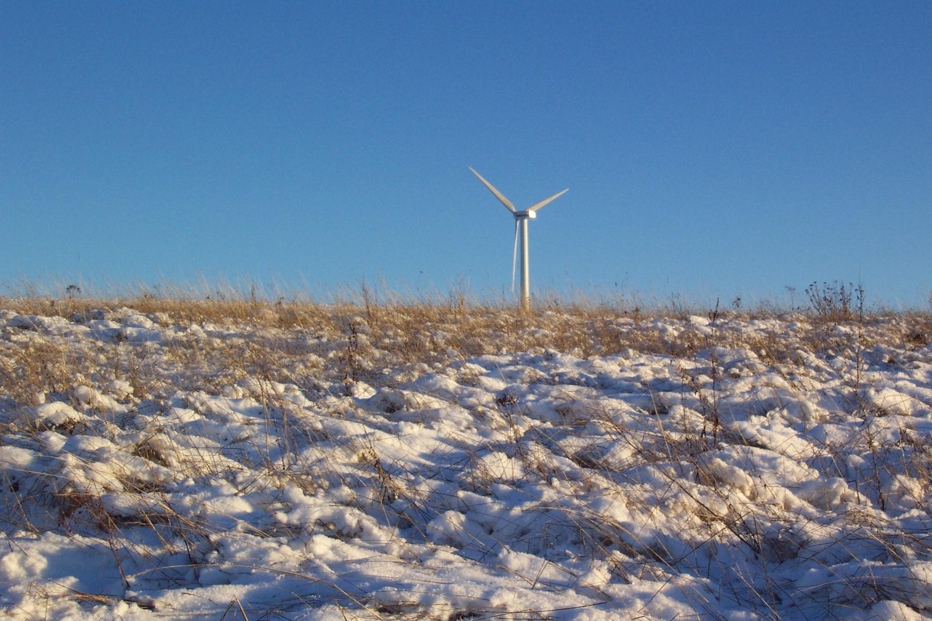 Die Korlinger Höhe im Winter