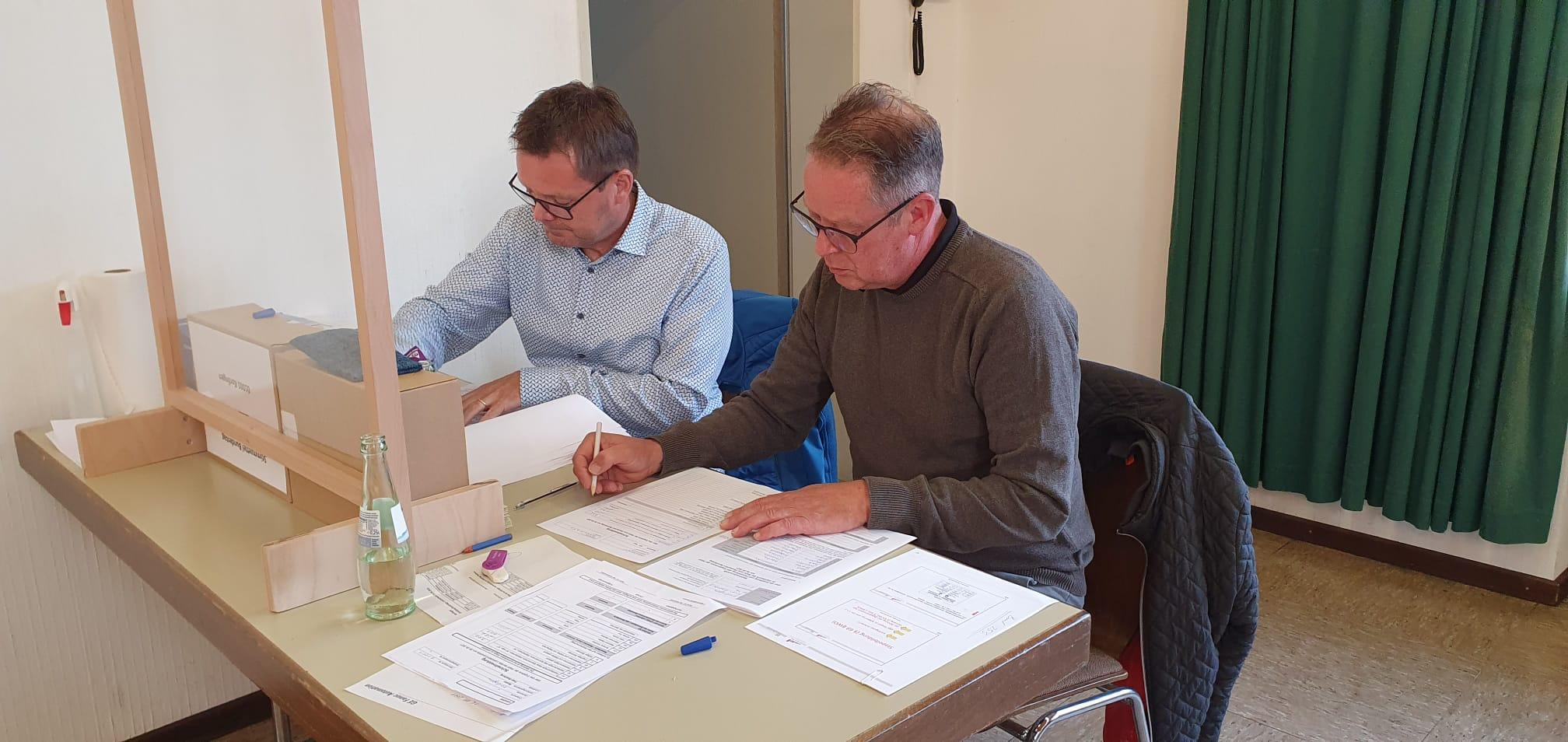 Unsere Schriftführer, Thomas Menden und Thomas Stelker