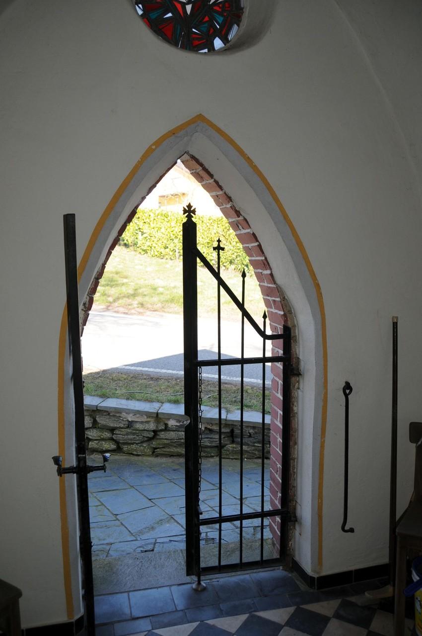 Blick aus der kleinen Kapelle