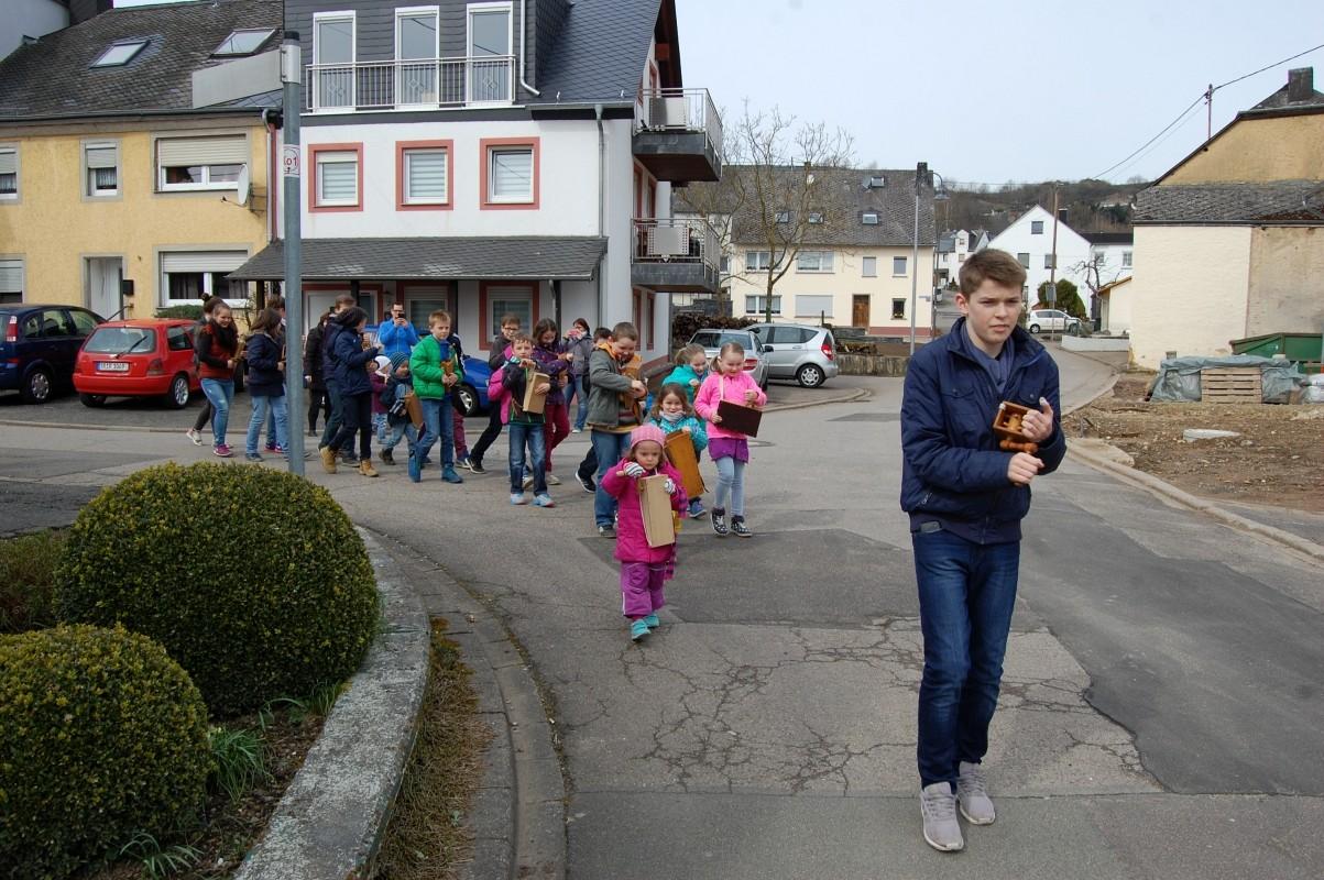 Klappern an den Kartagen 02. -04.04.2015
