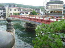 天橋立・廻旋橋