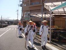 紀伊勝浦駅前を出発