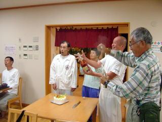 福岡のHさんの誕生日お祝い