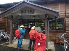 JR松尾寺駅前