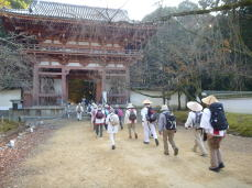 醍醐寺西大門(仁王門)