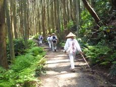 壺阪寺への道中