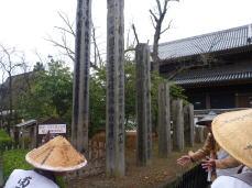善光寺歴代の回向柱
