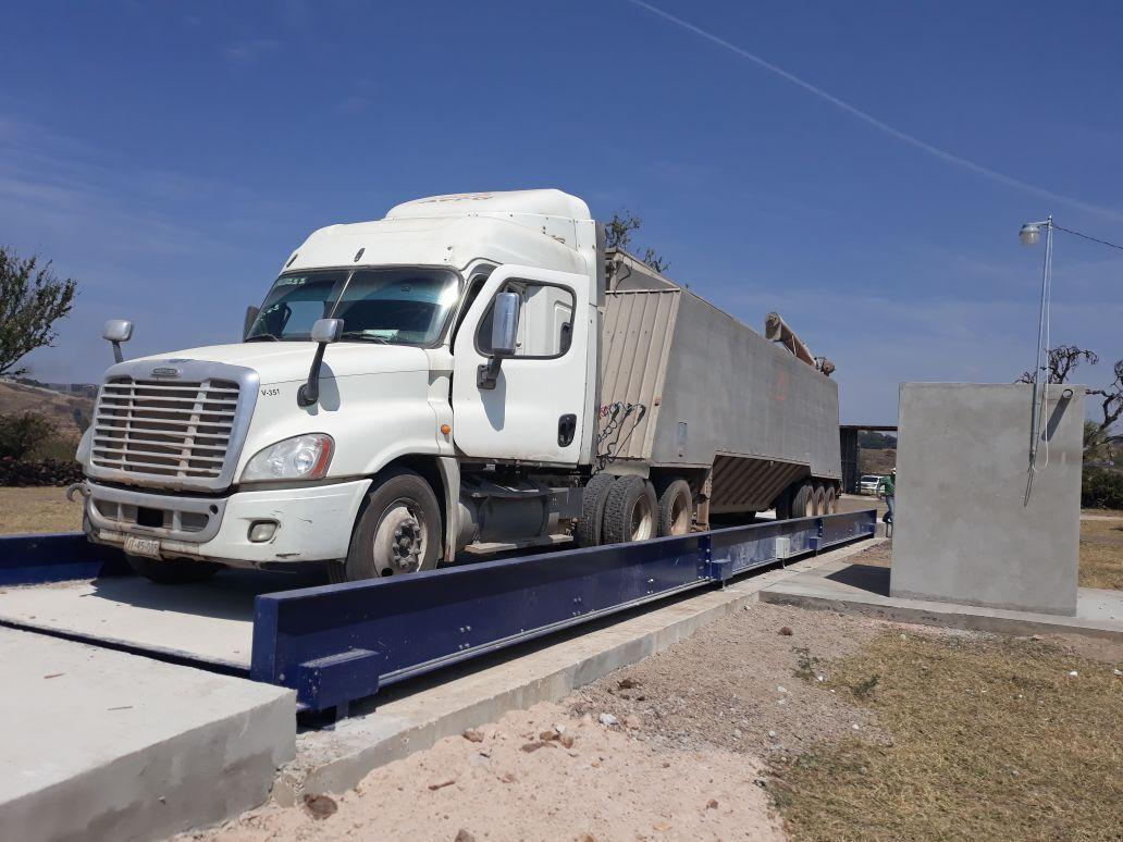 Báscula para camiones pública