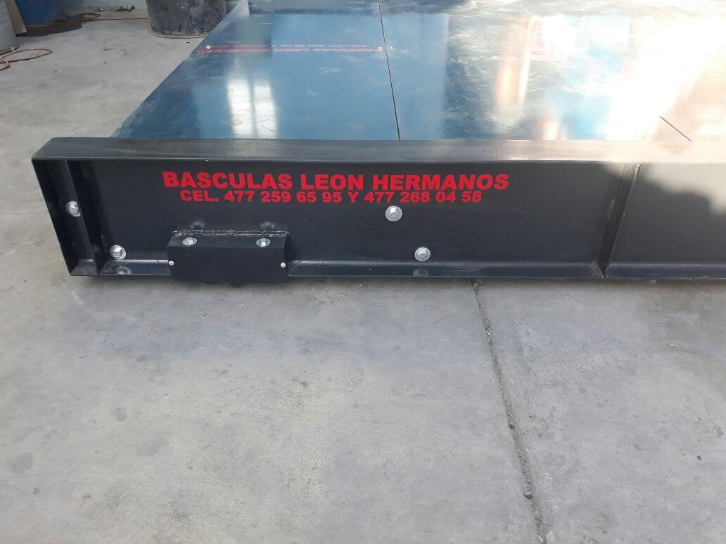Báscula para camionetas