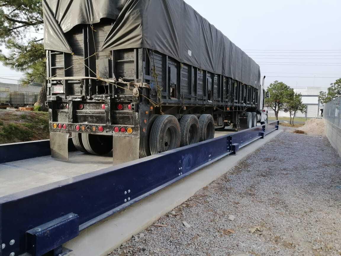 Como reubicar una báscula camionera
