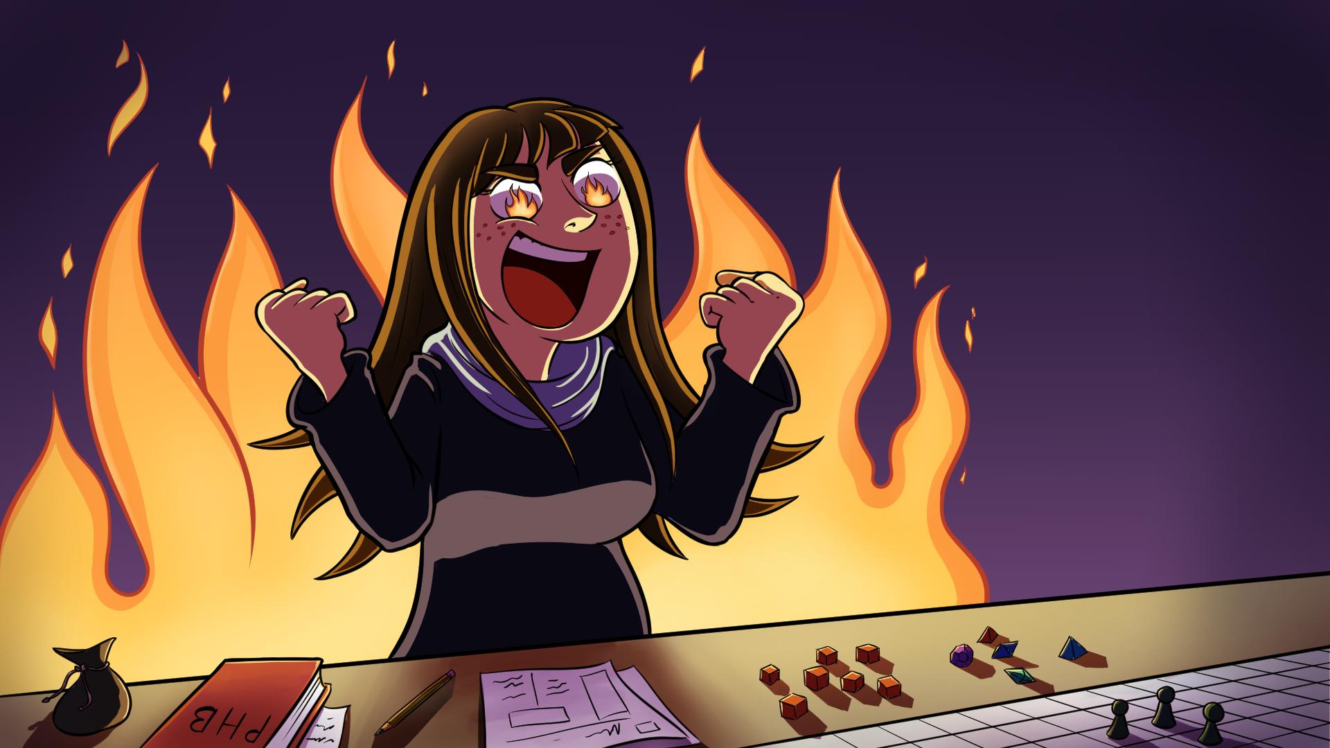 """""""Ich caste Fireball!"""""""
