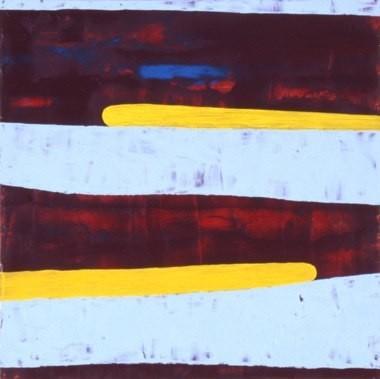"""Root Often, 11""""x11"""", oil on wood panel, 2000"""