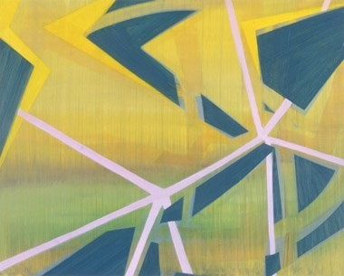 "Unknown Factors in a Tight Race, 24""x30"", oil on wood panel, 2005"