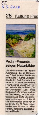Segeberger Zeitung 05.05.2014