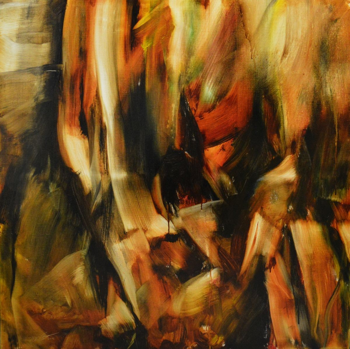 Öl auf Leinwand, 2015 100x100cm