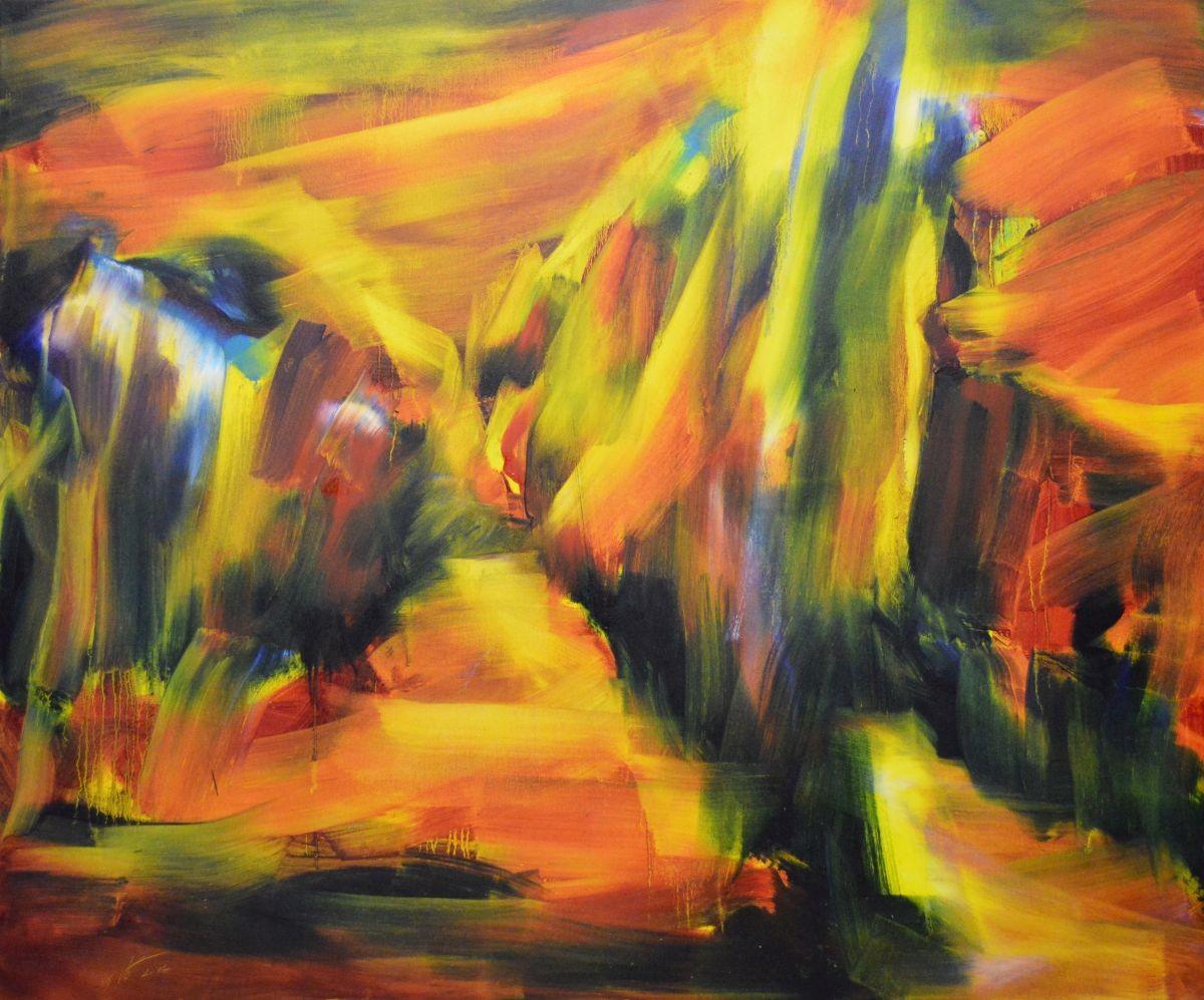 Öl auf Leinwand, 2014  100x120cm