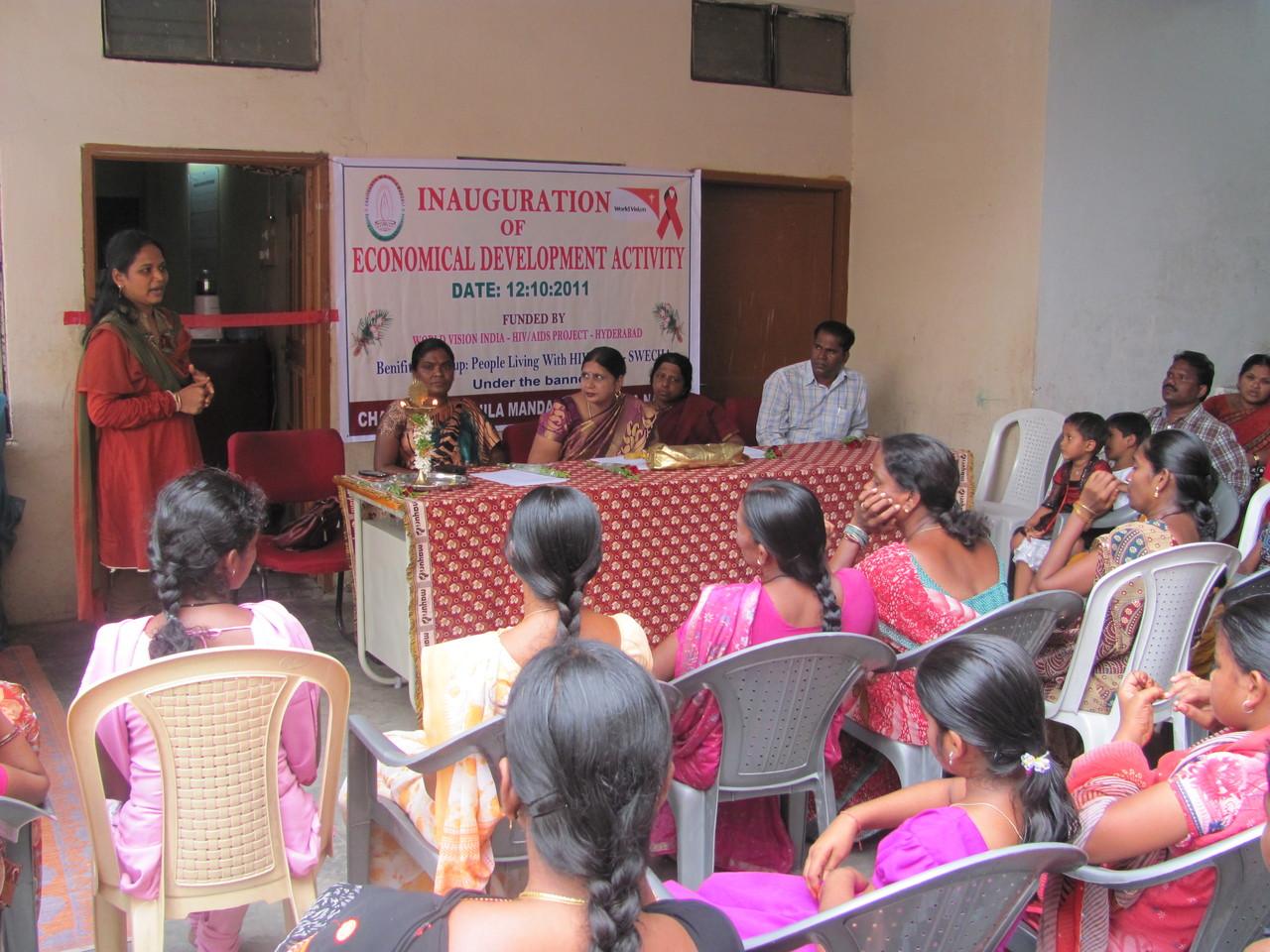 Inaguration of Income Generation Activity
