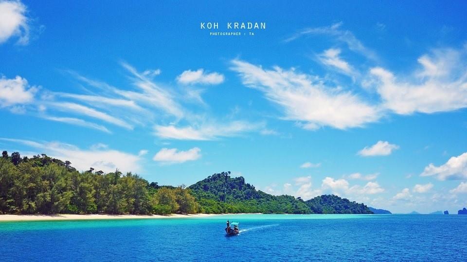 Koh Kradan, gilt als eine der schönsten Inseln vor Trang