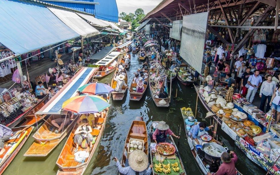 """Der Floating Market, ein """"muss"""" für jeden Bangkok-Neuling"""