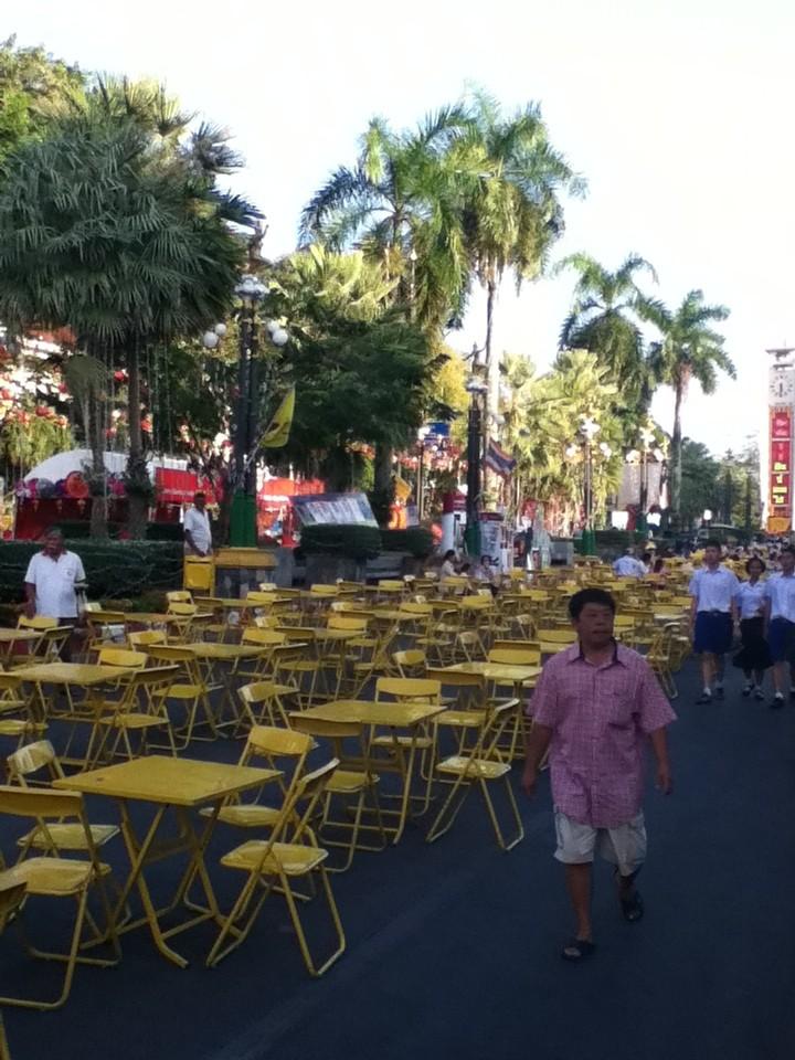 In Trang Stadt gibt es viele Festlichkeiten wie hier das chinesische Neujahrsfest