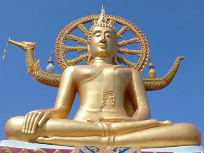 Der berühmte Big Buddha von Koh Samui