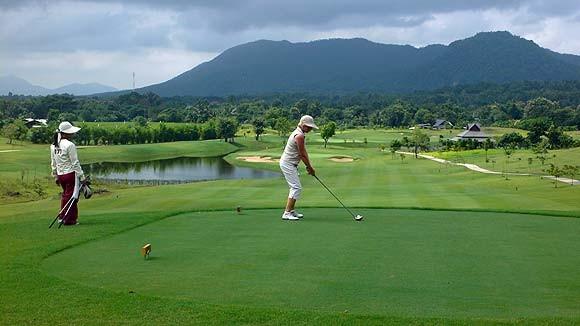 Auch Golf-Liebhaber kommen in dieser Gegend auf ihre Kosten