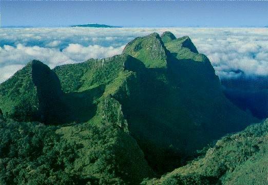 Der höchste Berg Thailands, der Doi Inthanon liegt auch in dieser Region, er ist knapp 2600 Meter hoch