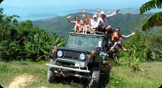 Es gibt tolle Safari-Trips wobei man das Inselinnere näher kennenlernen kann