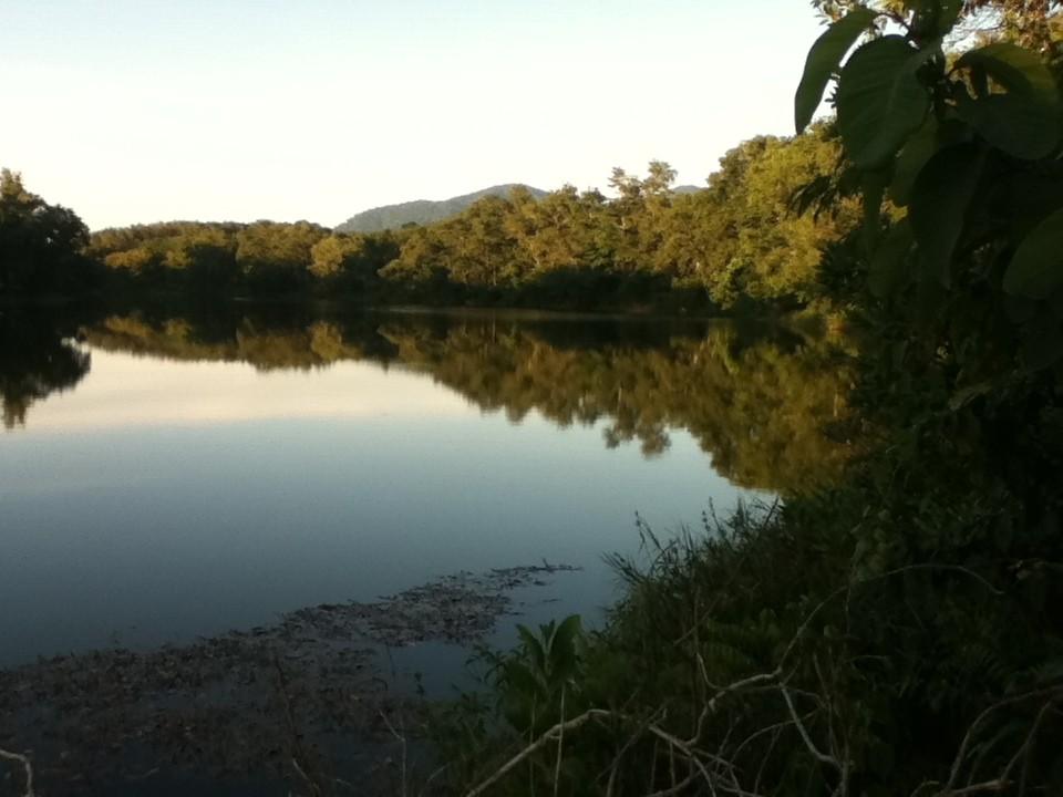 Einer der Seen in unmittelbarer Nähe von uns