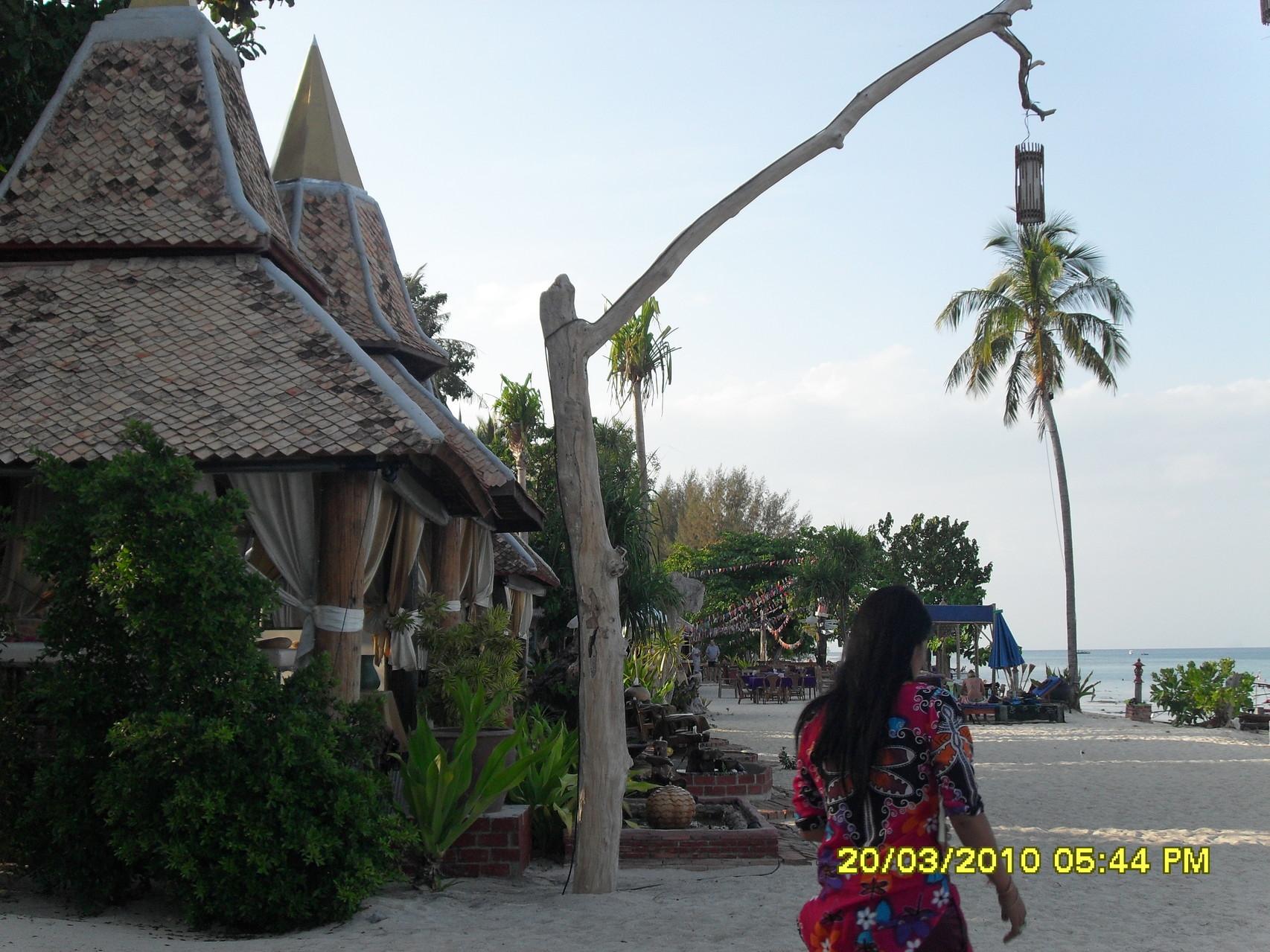 Massage-Häuschen auf Koh Hai