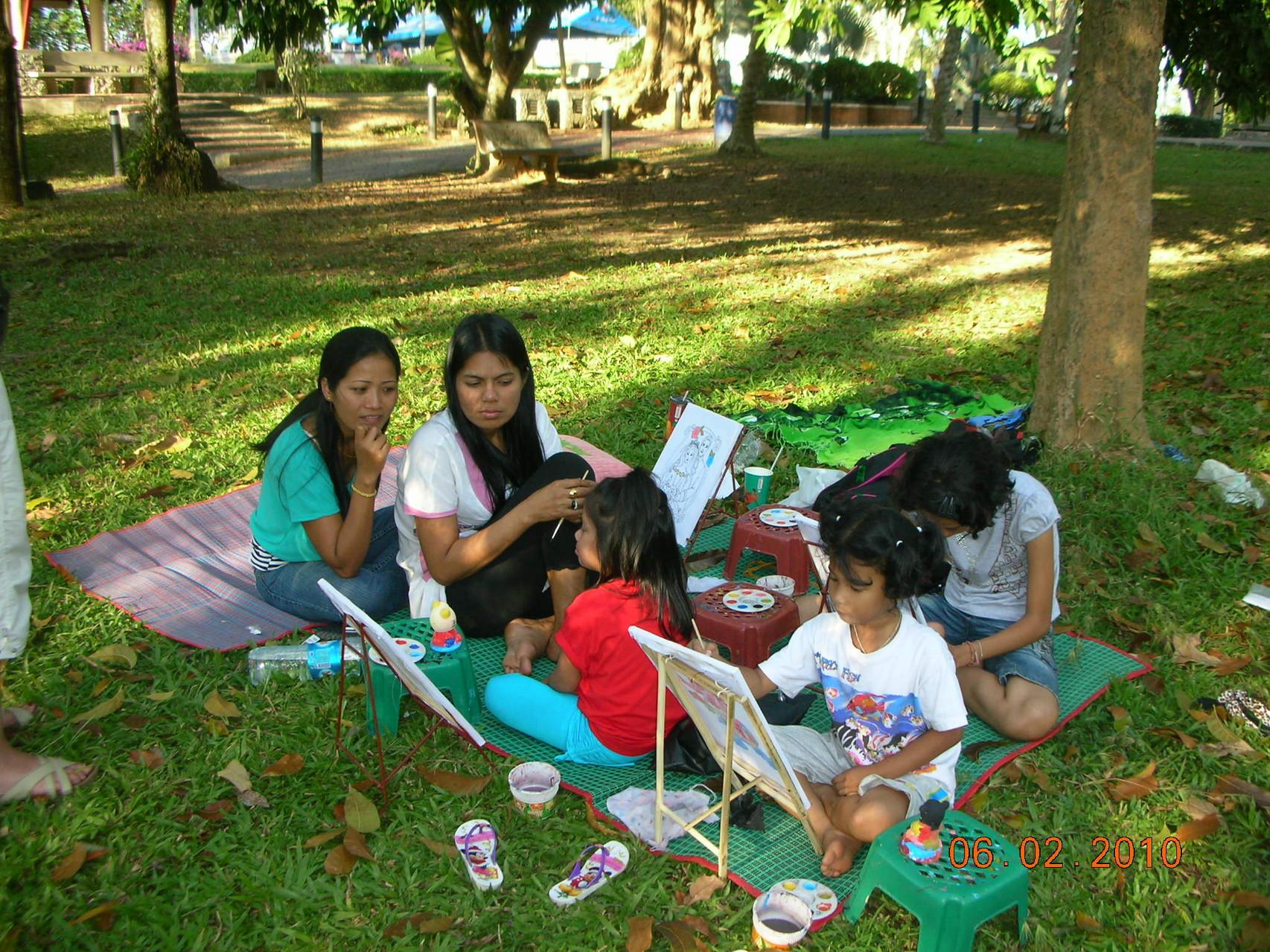 In den meisten Parks gibt es diverse Attraktionen für Kinder