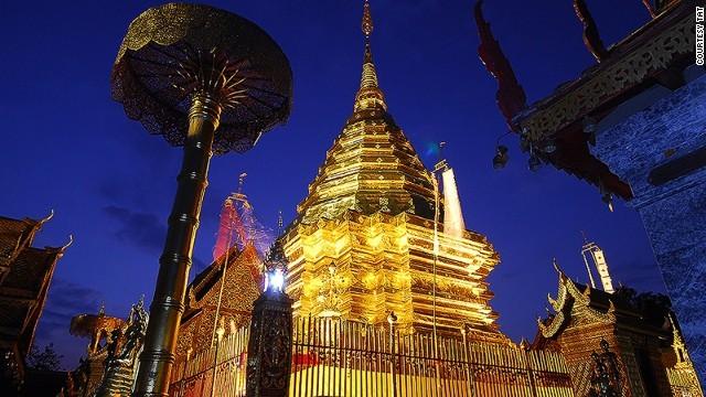 """Chiang Mai auch genannt als """"Die Rose des Nordens"""", eine wunderschöne Gegend im Norden von Thailand"""