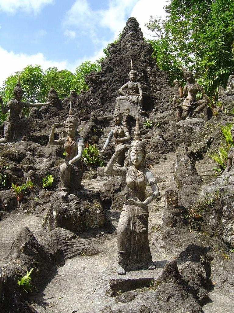 Der Secret Garden ist ein toller Ort in der Inselmitte und sollte auf jeden Fall besucht werden