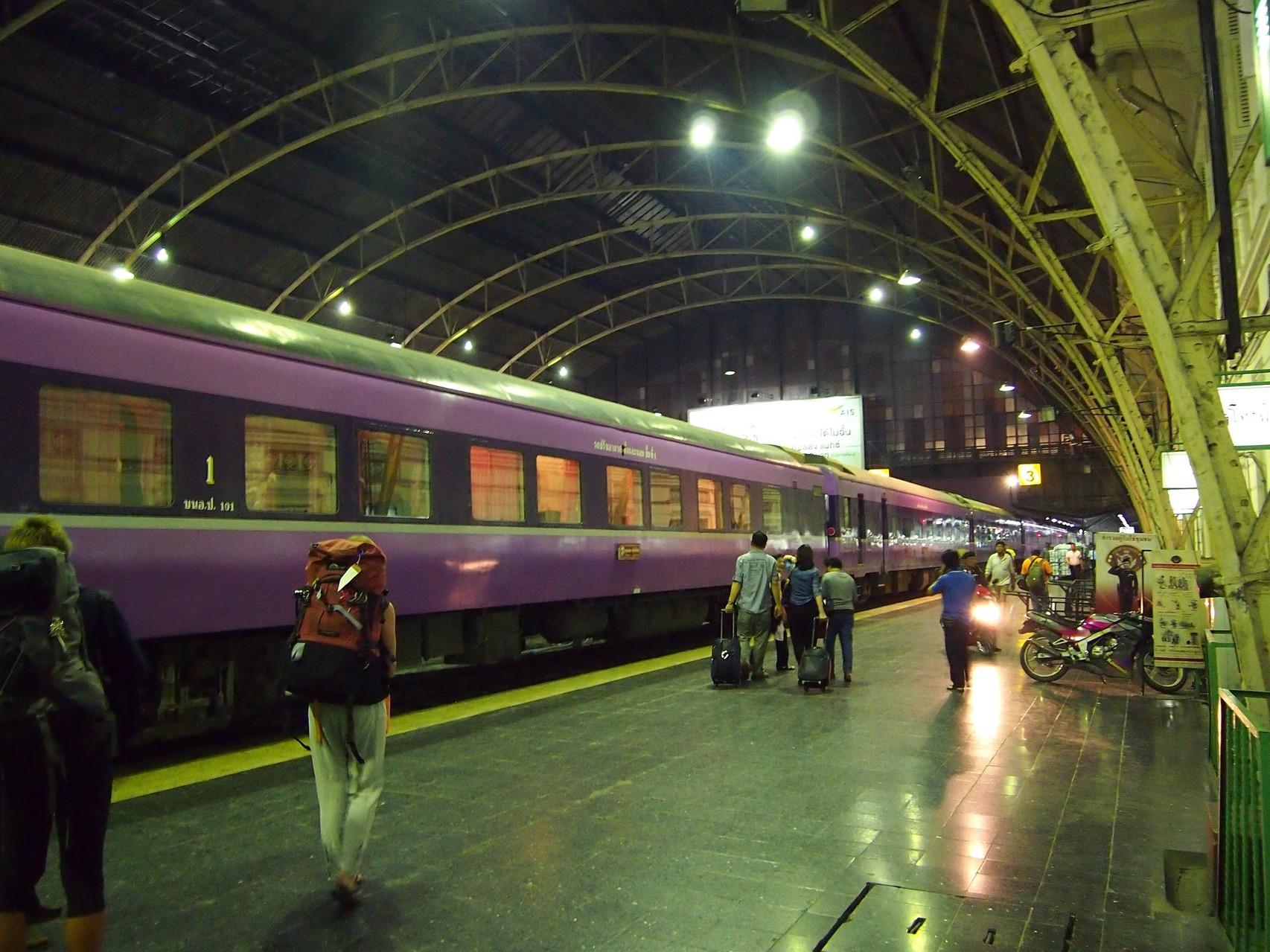 Chiang Mai ist per Bahn in ca. 12 Std. von Bangkok aus erreichbar