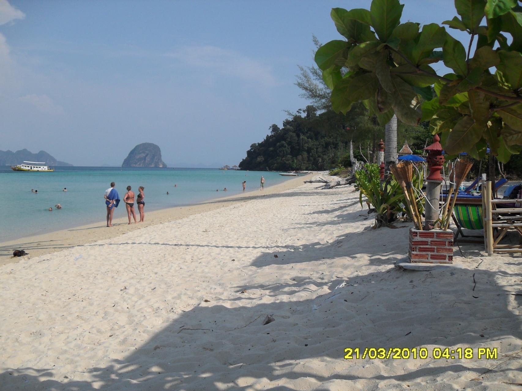 Der Strand von Koh Hai