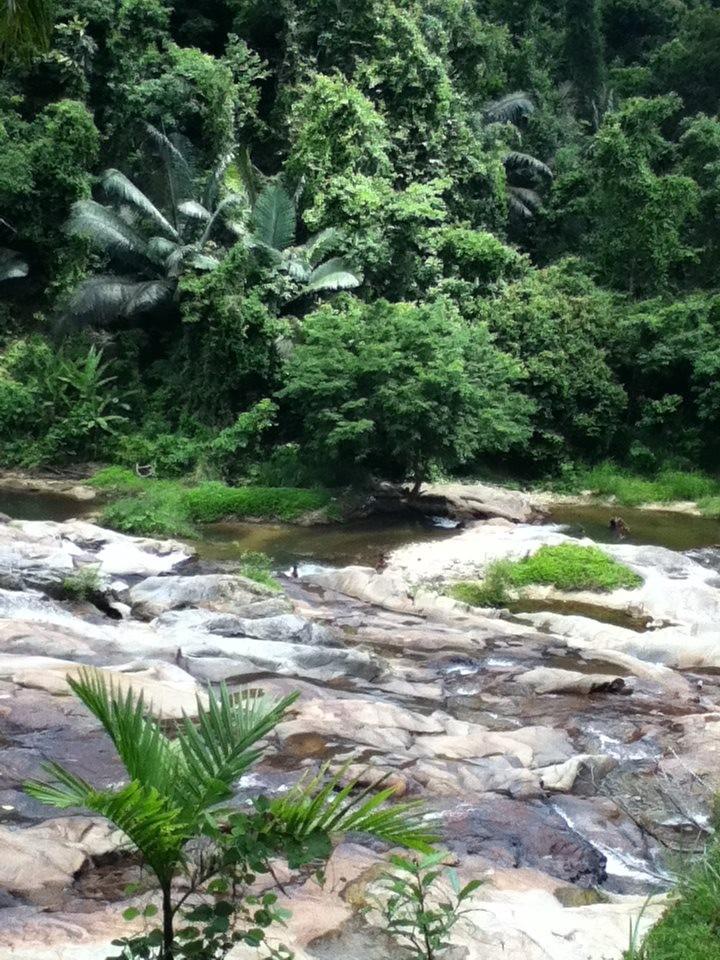 Unterlauf von einem weiteren Wasserfall