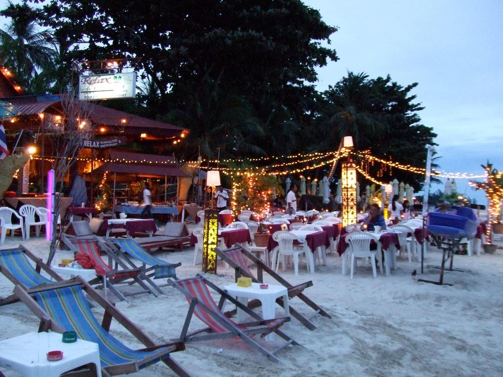 Es gibt unzählige tolle Restaurants und Bars direkt am Strand gelegen