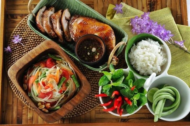 Leckeres Thai-Essen ist in Trang garantiert