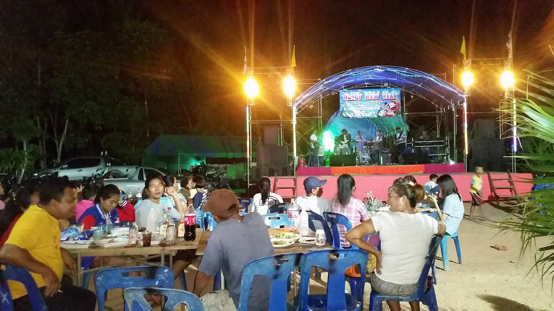 Neujahrsfest im Thai Break Resort