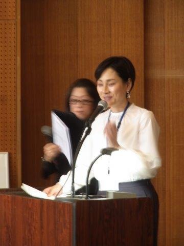 今年も素晴らしい司会をしていただいた島田さん